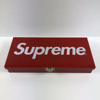 Supreme Large Metal Storage Box 17SS 【中古】