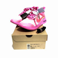 OFF-WHITE × NIKE ZOOM FLY SP PINK  27.0cm【新品】