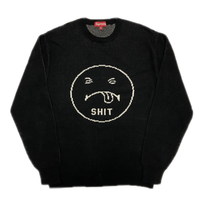 Supreme Shit Sweater Black M 17AW 【中古】