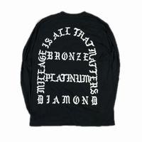 STAR ALLIANCE GOLD CLOTHING L/S TEE BLACK L【中古】