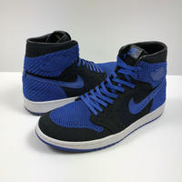 NIKE AIR JORDAN 1 HIGH ROYAL FLYKNIT 27.0cm 2017年 【中古】