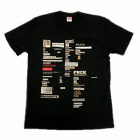 Supreme Cutouts Tee Black M 18AW 【中古】