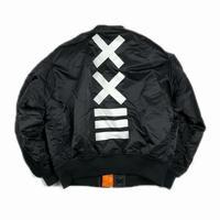 XXIII C'est Vingt-Trois セバントゥア MA-1 JACKET BLACK L 【中古】