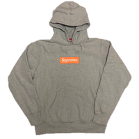 Supreme Box Logo Hooded Sweatshirt Heather Grey M 17AW 【新品】