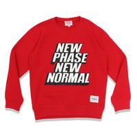 NP/NN  C/N  SWEAT  SHIRT  RED  NP/NN  スウェットシャツ  レッド