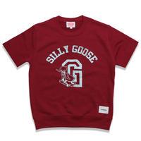 SILLY  GOOSE  CUTOFF  SWEAT  SHIRT  BURGUNDY  シリーグース  カットオフスウェットシャツ  バーガンディ