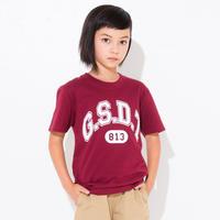 G.S.D.T  813  Tee  バーガンディー