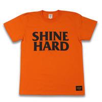 SHINE  HARD  TEE  シャインハード  Tシャツ  オレンジ  大人サイズ