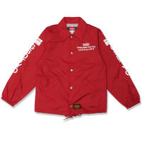 GSD  LAT35  COACH  JACKET  GSD  LAT35  COACH  ジャケット  RED