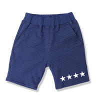INDIGO  SWEAT  SHORT  PANTS  FOUR  STAR