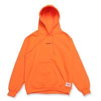 SMALL  LOGO  HOODIE  ADULT  SIZE  NEON  ORANGE  スモールロゴ  パーカー  蛍光オレンジ  大人サイズ