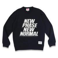 NP/NN  C/N  SWEAT  SHIRT  NAVY  NP/NN  スウェットシャツ  ネイビー