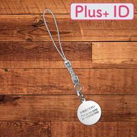 シルバーリースストラップ【 Plus+ ID 付】/サークル(SS)