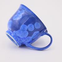結晶釉 中マぐカップ ビードロ色 №261