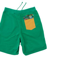 Jrスウェットショートパンツ<Lime Cay>(G097-768J)