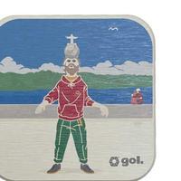 [限定クリアファイルプレゼント]珪藻土コースター<Crist-Rei>(G186-660)