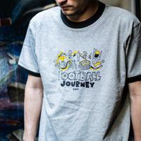 [大人&子供Tシャツ同時購入で10%OFF]リンガーTシャツ<Boa viagem>(G192-789)