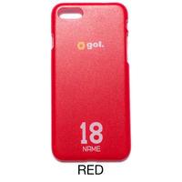 セミオーダースマホケース(ハードタイプ)(RED  G786-508)