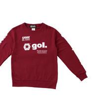 Jr.スウェットシャツ<LOGOS>(G193-814J)