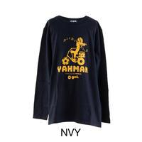 [50%off]Jr.長袖Tシャツ<Yahman>(G071-237)