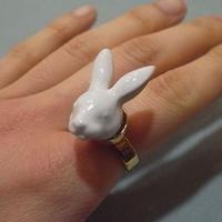 【ANDRESGALLARDO】 RABBIT HEAD Ring