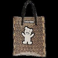 【SIMEON FARRAR】PVC BEAR PAPER BAG