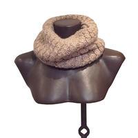 【karakoram accessories】 ベビーアルパカスヌード キャメル