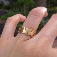 【KOMI】Cat ring Sサイズ(#8.5~#9)