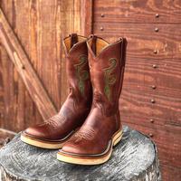 RIOS of MERCEDES / Crepe Roper Boots (CHOCO/CHOCO)