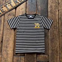 Langlitz Leathers / Border Short Sleeve T-shirt(Type-A)