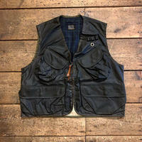 BiburyCourt / Waxed cotton fishing vest