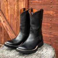 RIOS of MERCEDES / Crepe Roper Boots (BLACK/BLACK)