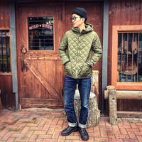 Barbour / HOODED LIDDESDALE NYLON