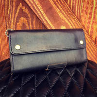 BACK DROP Leathers / LONG BILL WALLET