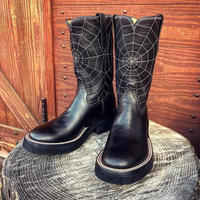 RIOS of MERCEDES / Crepe Sole Roper Boots(spider's web)
