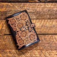 DEERHORNSMITHS Leather / C-SYSTEM NOTE BOOK COVER (Bible size)