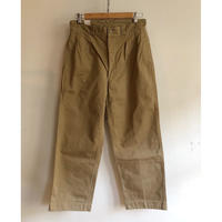 "50's French Army Chino Trousers ""43"""