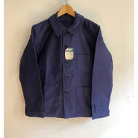 40's〜Early 50's Ink Blue Moleskin Coverall Old Pattern Dead Stock