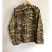 "60's French Army M47 Field Jacket Lizard Striped Pattern For ""Foreigners Unit"" 42"