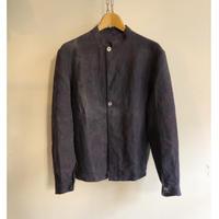 "1910's〜1920's Belgian Indigo Linen Workwear For ""Cole Miner"" Dead Stock"