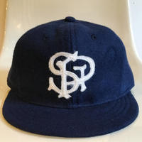 Ebbets Field Flannels St. PAUL APOSTLES Base Ball Cap Short Visor