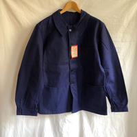 "40's Dead Stock Cotton Twill Workwear with Black Lacquer Button Made by ""DANTON""/1"