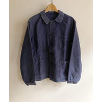 "40's Ink Blue Moleskin Coverall Made by ""Adolphe Lafont"""