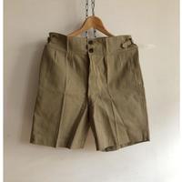 1943〜1944 Royal Australain Air Force Side Adjustable Chino Shorts Dead Stock.