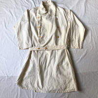 50's French Military Hospital Coat