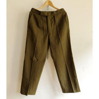 Royal Army Issue Wool Dress Trousers (Olive) Dead Stock〜Mint Condition