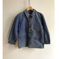 "40's Ink Blue Moleskin Coverall Made by ""Le Beaufort"""