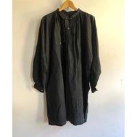 "1900's〜1910's ""Black Indigo Linen"" Biaude"