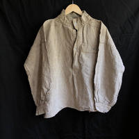 1910's French Military Linen Canvas Bourgeron Smock