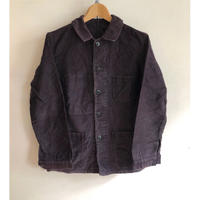 40's Black Moleskin Coverall
